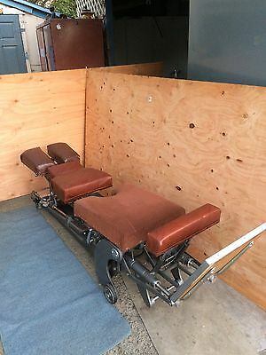 Zenith Hylo Chiropractic Adjusting Table used all functions operate as designed.