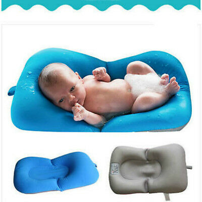 Non-Slip Bath Tub Support Infant Baby Bath Pad NewBorn Safety Security Bath Seat