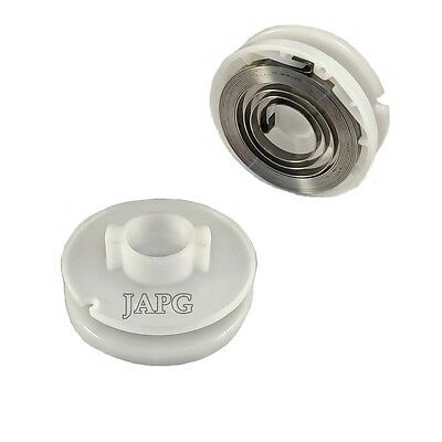 Starter Pulley & Recoil Spring, Stihl HS72, HS74, HS75, HS76, HS80, HS85, 2-013