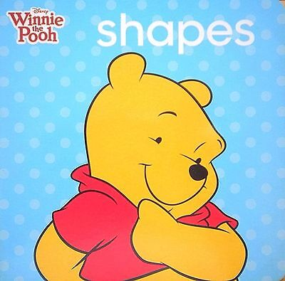 Disney Winnie the Pooh   Shapes  Learn with Pooh,Tigger & Piglet  Board Book New