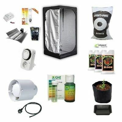Kit Growbox Completo Lite 80 HPS 250W Agro Coltivazione Indoor in Growroom