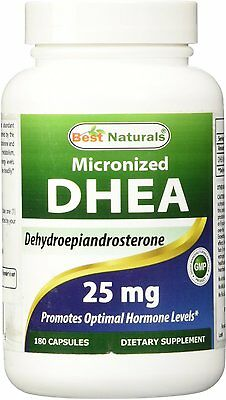Micronized DHEA, Best Naturals, 180 tablet 25 mg