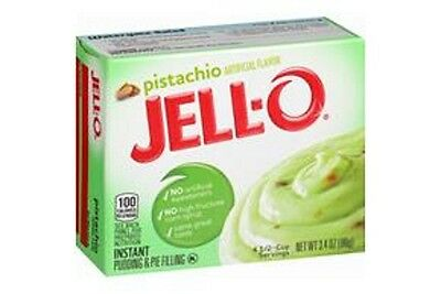 Jello Instant Pistachio Pudding 96g (SEE DESCRIPTION)