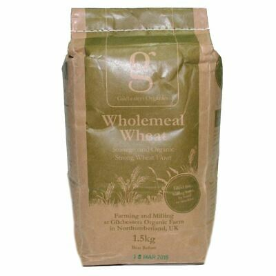 Gilchesters Organics   Strong 100% Whole Wheat Flour   1 x 1.5kg