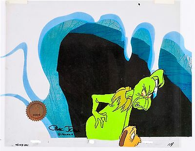 How The Grinch Stole Christmas Original Production Max Cel signed by Chuck Jones