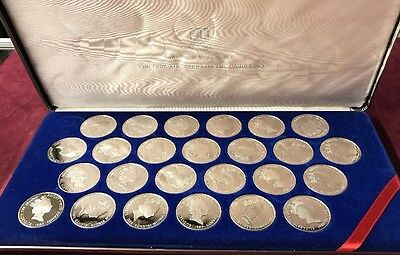 British Virgin Islands Treasure Coins Of The Caribbean Silver Proof 25 Coin Set