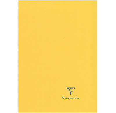 "Cahier ""Koverbook"" - Polypro - 24x32 - 96 pages - Séyès - Jaune"