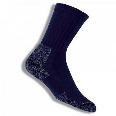 (8-9.5, Blue) - Thorlo Crew Women's Hiking Sock. Delivery is Free