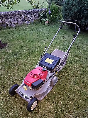 honda mower hrb 423 self propelled with bag roller. Black Bedroom Furniture Sets. Home Design Ideas