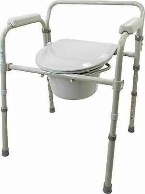 Viverity B105-2R 3-in-1 Folding Commode