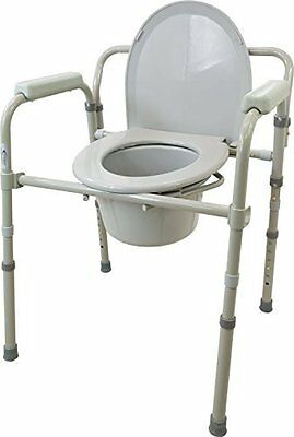 3-in-1 Folding Commode by ROSCOE