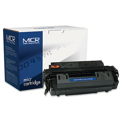 MICR Print Solutions Compatible with Q2610AM MICR Toner 6 000 Page-Yield Black
