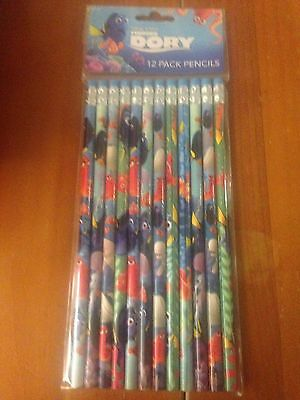 Lot of 2 Disney FINDING DORY PENCILS - 24 Pencils Free Shipping