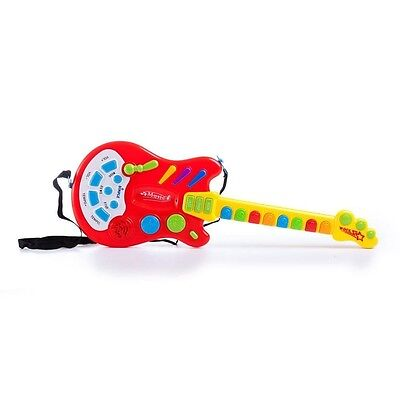 Toy Electric Guitar with over 20 Interactive Buttons, Levers and Modes with Soun