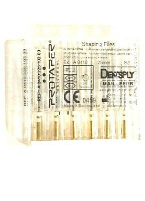Dental Dentsply Rotary ProTaper Universal Engine NiTi Files 25 mm S2.