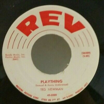 """Ted Newman REV 3505 """"PLAYTHING""""    (GREAT ROCKABILLY)      MAKE AN OFFER"""