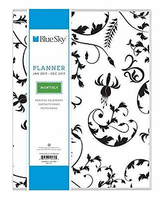 """Blue Sky 2017 Monthly Planner, 8.5"""" x 11"""", Analeis (19572)"""