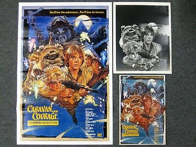 Star Wars Movie Poster Caravan of Courage Production Studio An Ewok Adventure