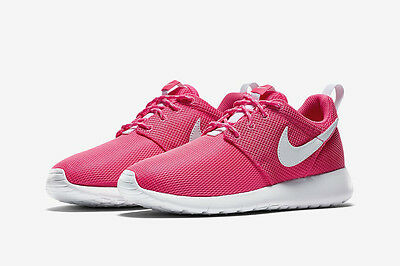 brand new b3faa d3739 Nike Roshe One Gs 599729-609 Retro Hyper Pink Youth New Yeezy Big Girl  Authentic