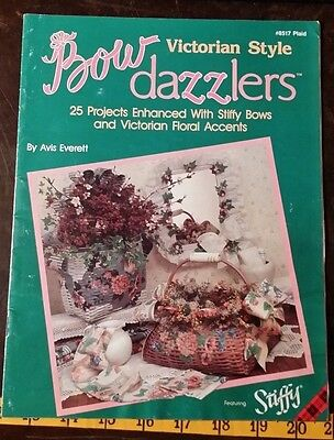 Bow Dazzlers Victorian Style Floral Accents Pattern Free Shipping