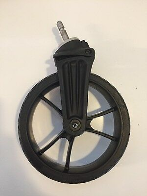 Baby Jogger City Select Replacement 2 Front Wheels Black Toddler NEW Baby Parts