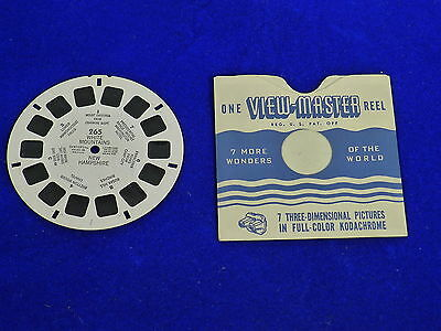 View-Master Reel # 265 WHITE MOUNTAINS NEW HAMPSHIRE Viewmaster