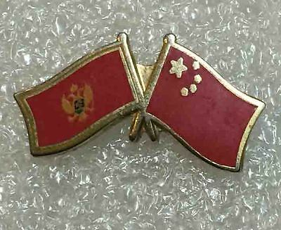 olympic pin NOC MONTENEGRO 2008 BEIJING CHINA  enamel  very rare