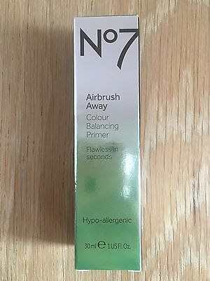 No7 Airbrush Away Colour Balancing Primer (30ml) Brand New In Box, RRP £16.50!