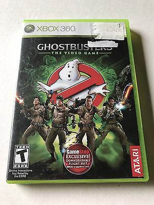 Ghostbusters: The Video Game (Microsoft Xbox 360, 2009) Complete