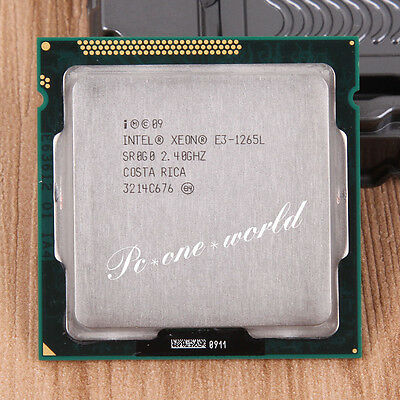 100% OK SR0G0 Intel Xeon E3-1265L 2.4 GHz Quad-Core Processor CPU LGA 1155