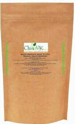 Turmeric Curcumin And Black Pepper and Ginger120 Capsules  High Strength refill