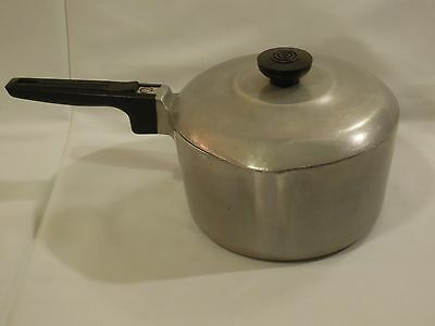 Vintage Magnalite Wagner Ware Sidney -O- 2.5 Quart Saucepan with Lid