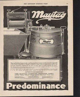 1919 Maytag Washing Machine Household Appliance Home Ad9569