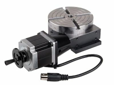 Sherline 8730 CNC Rotary Table with Stepper Motor for Mini Mill Made in USA