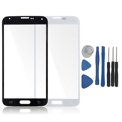 Front Replacement LCD Screen Glass Lens For Samsung Galaxy Phones + 8 Tools Set