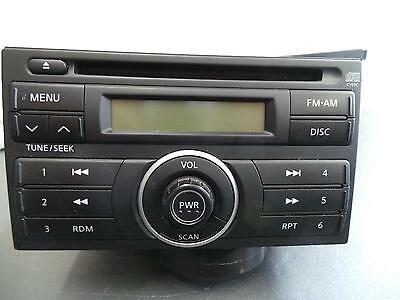 Nissan Tiida Radio/cd/dvd/sat/tv Factory, C11, 09/04-11/12 04 05 06 07 08 09 10