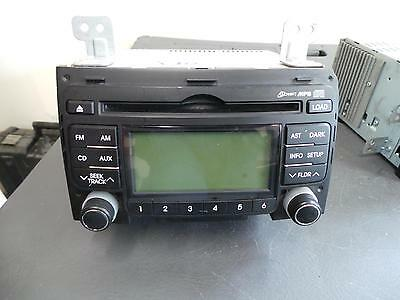 Hyundai I30 Radio/cd/dvd/sat/tv Mp3/wma/aux/cd Player, Non Bluetooth Type, 6 Dis