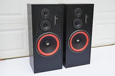 Cerwin Vega LS-12 Speakers Pair 3-Way Made in USA All Original Lower 48 Shipping