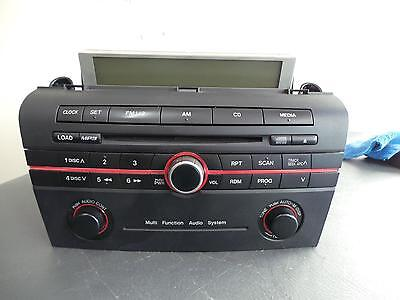 Mazda 3 Radio/cd/dvd/sat/tv Cd W/ Mp3 Type, Bk, 01/04-11/09 04 05 06 07 08 09