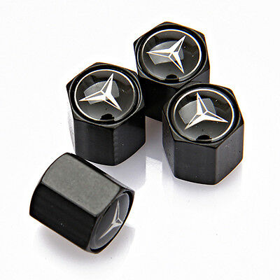 Universal Car Badge Wheel Tire Valve Cap Tyre Dust Cap For Mercedes-Benz C E CLS