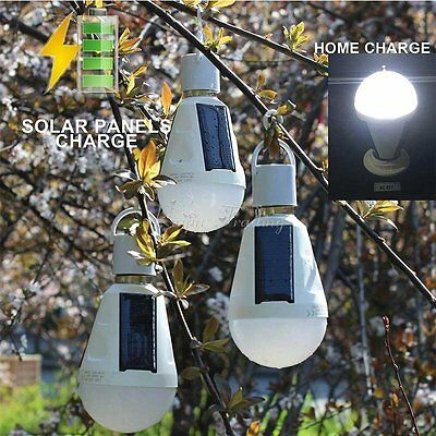 Waterproof 16 LED Solar Light Bulb Walkway Garden Landcape Patio Emergency Lamp