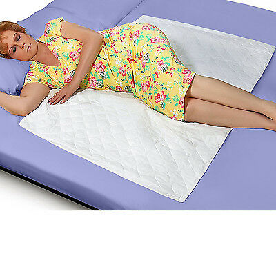 """Sheet Protector Underpad Quilted Waterproof Incontinence Mattress Cover 34""""x52"""""""