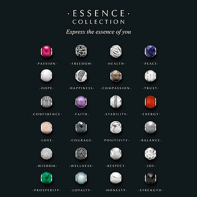 New Genuine PANDORA ESSENCE Charm COLLECTION Sterling Silver Bead