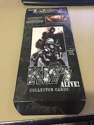 Kiss Alive - Empty Card Box - No Packs - Shipped Flat