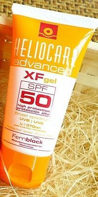 Heliocare Advanced  XF gel spf 50.......100%GENUINE new with no box 4x 50ml
