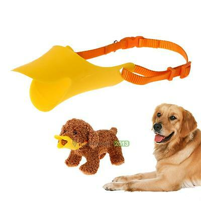 Pets Dog Muzzle Masks Anti Bite Bark Duck Mouth Shaped Pet Duckbill Mouth Tool