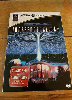 Independence Day DVD Movie ID4 Sci Fi Roland Emmerich With Sleeve