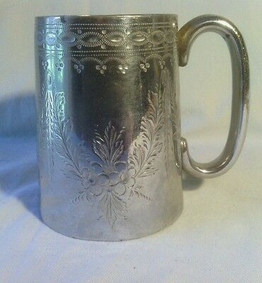 Britanoid By Barker Bros. Silver Plate Pint Tankard, Early 20Th Century?