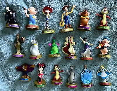 Disney 100 years Figures lot of 18 - Toy Story , Pete's Dragon, Minnie Mouse +
