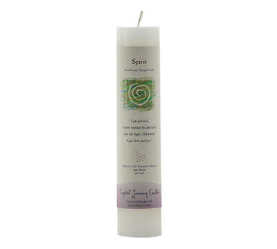 "Spirit - Handmade Herbal Magic Reiki Charged 7"" Ritual Spell Pillar Candle"